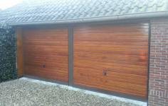 Houten-garagedeuren